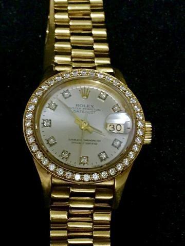6963c638e35 Rolex Datejust President Lady 26mm