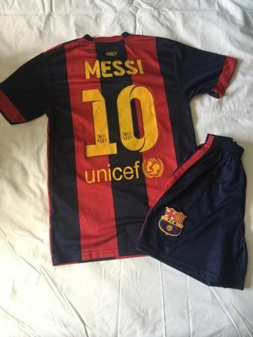 Camisa Barcelona infantil. Original NOVA - Esportes e ginástica ... 284bef7364fd7