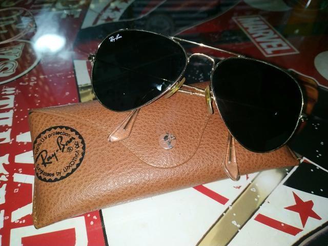 Óculos de sol Rayban Aviador (feminino) - Bijouterias, relógios e ... 02b25ccb87