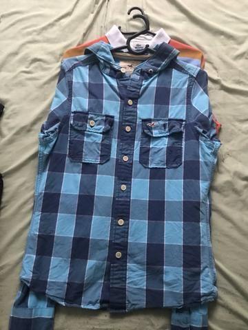 c1a2171240 Vendo camisa xadrez hollister - Roupas e calçados - Tupi