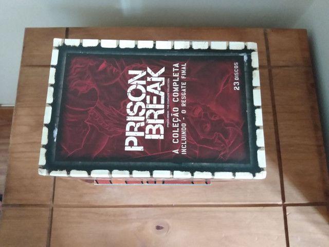 Box dvd Prison Break - Coleção Completa - Foto 3