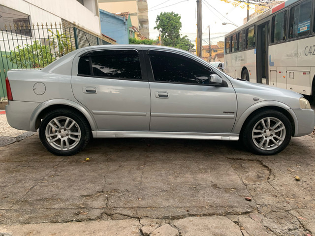 Astra sedan completo, kit gás financio 48 x 599 - Foto 4