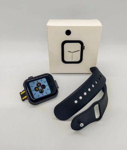 D28 Smartwatch Frequencia Cardiaca Pressao Arterial - Foto 4