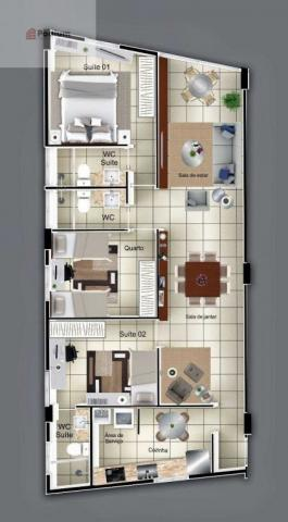 Apartamento à venda com 3 dormitórios em Estados, João pessoa cod:32702 - Foto 4