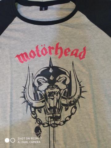 Camisas de rock Motorhead e Metallica 2 por 70$ - Foto 4