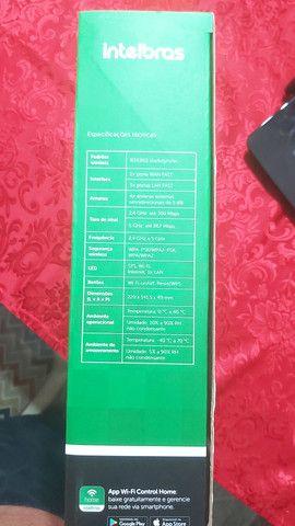Roteador Intelbras Dual band AC 1200 RF 1200 - 5 Anos de Garantia   - Foto 4