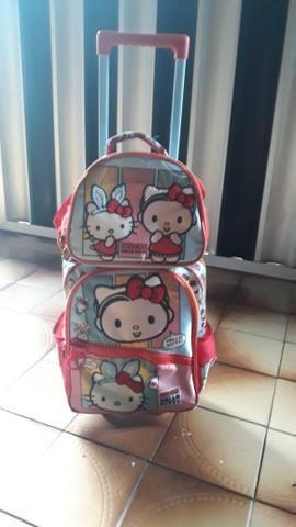 Kit de mochila e lancheira