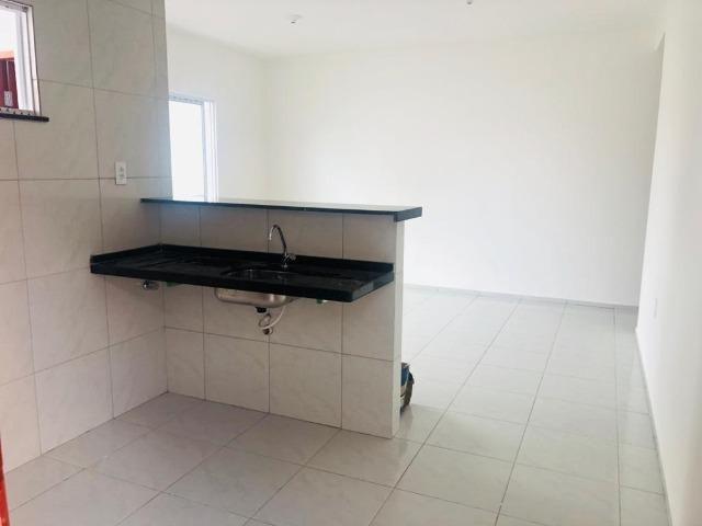 WS casa nova casa com 2 quartos, 2 banheiros em condominio - Foto 7
