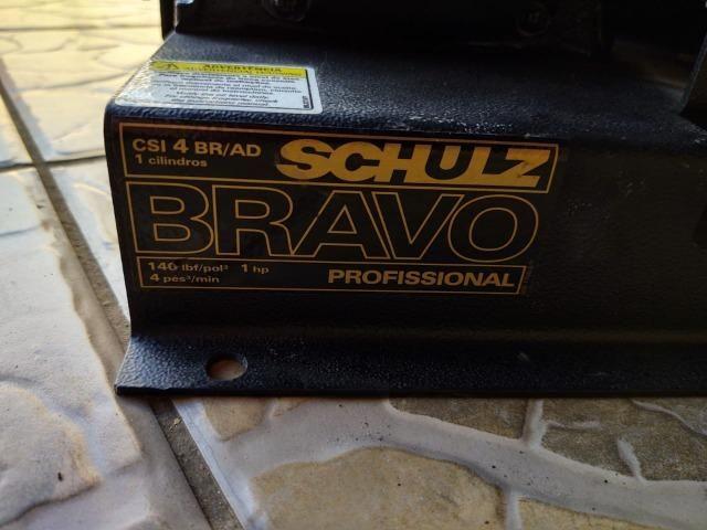 Compressor de ar direto 3,6 pés 1 hp monofásico - Bravo CSI4BR/AD 110V/220V - Foto 4