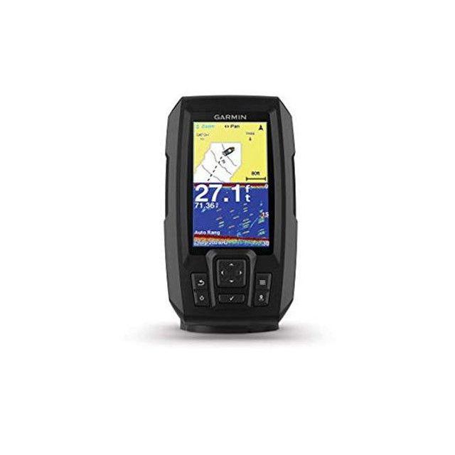 GPS Garmin Striker Plus 4 com Transdutor de Feixe Duplo - Foto 4