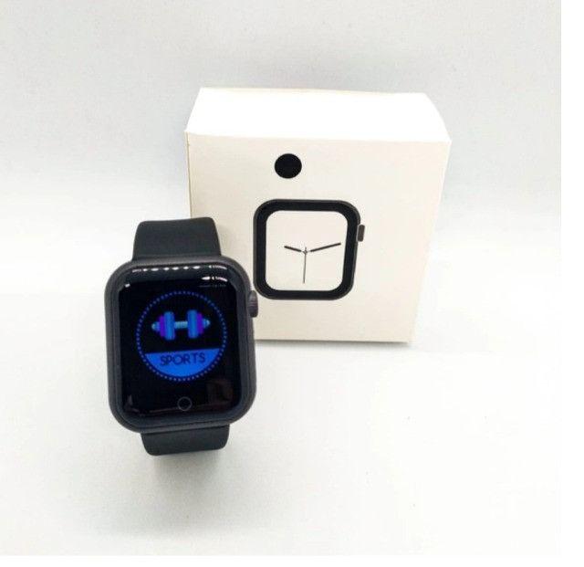 D28 Smartwatch Frequencia Cardiaca Pressao Arterial - Foto 6