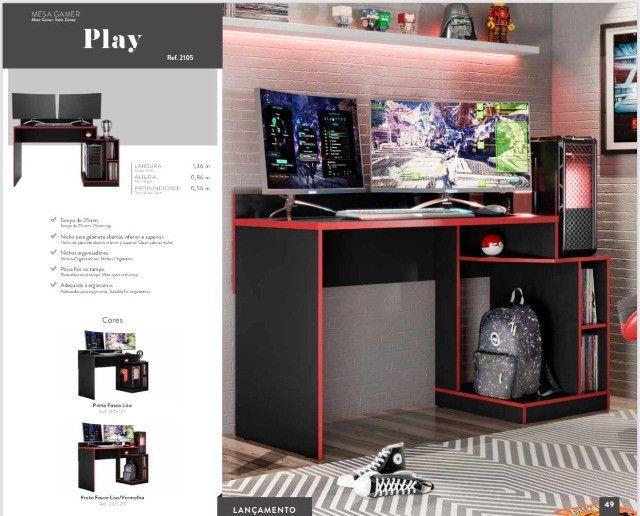 Mesa gamer - Pronta Entrega