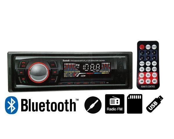 Promoção! Radio Automotivo Com Bluetooth Sd Mp3 Usb 45wx4 Com Viva Voz - R$ 134,99 - Foto 3