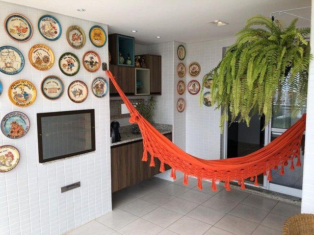 Aluguel Apartamento 180m², Nascente, 3 Suítes, Decorado e Mobiliado, em Patamares, Salvado - Foto 10