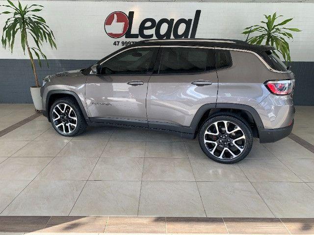 Jeep Compass 2019 2.0 Limited Flex C/Teto Solar - Foto 4