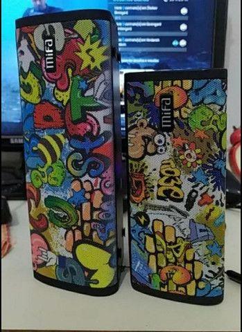 Caixa De Som bluetooth  Mifa 20w Ipx7 A Prova Dagua 100% Portátil Original importado  - Foto 3