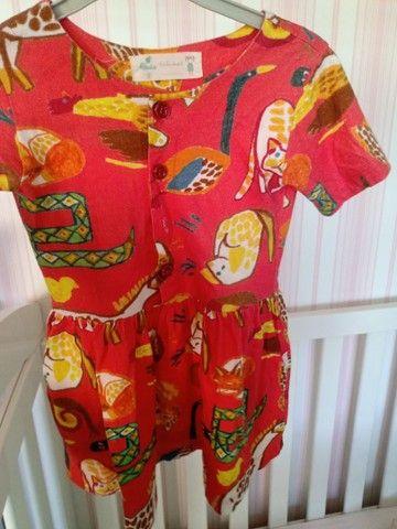 Vestido de bichinhos fabula - Foto 2