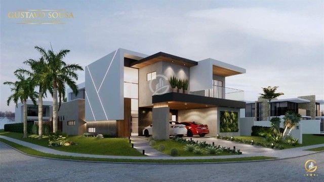 Belíssimo projeto  em um terreno de esquina privilegiado! Condomínio Alphaville Fortaleza