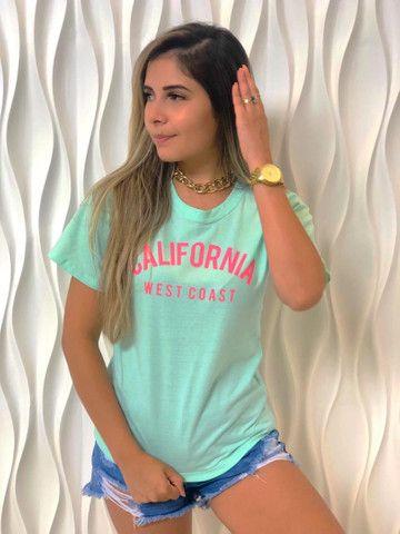 Blusas Femininas T-Shirt Feminina - Foto 3