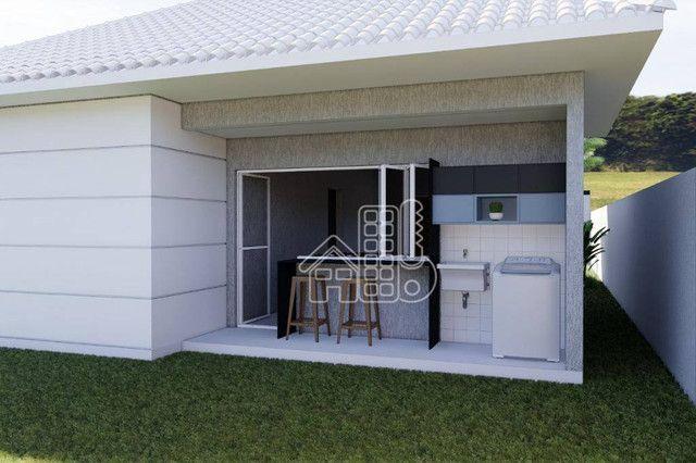 Casa com 3 dormitórios à venda, 100 m² por R$ 495.000,00 - Jardim Atlântico Leste (Itaipua - Foto 14