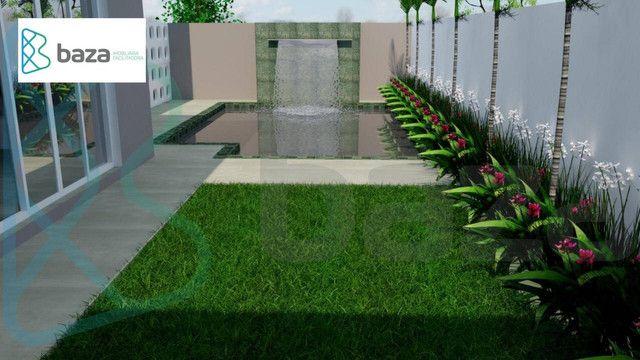 Casa com 3 dormitórios sendo 2 suítes à venda, 183 m² por R$ 830.000 - Residencial Aquarel - Foto 9