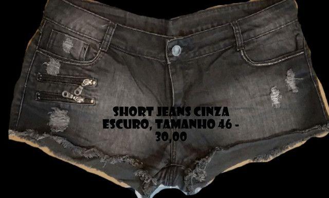 Shorts e Minisaia Diversos - confira os tamanhos - Foto 4