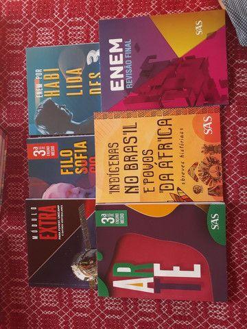 Livros 3° Ano Ensino médio SAS - Foto 2