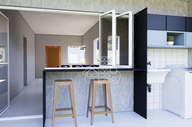 Casa com 3 dormitórios à venda, 100 m² por R$ 495.000,00 - Jardim Atlântico Leste (Itaipua - Foto 18