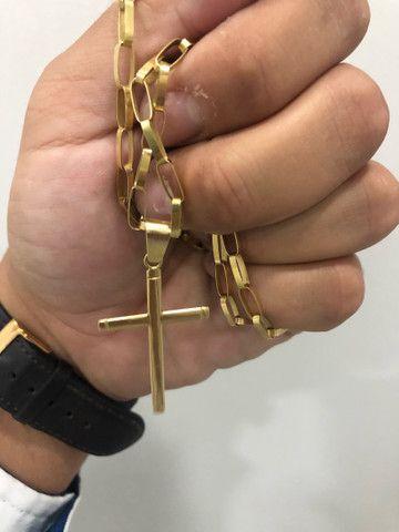 Cordão ouro 18k - Foto 3