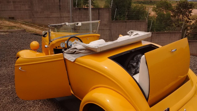 Hot Rod rodster V8 Carangas Garage - Foto 7