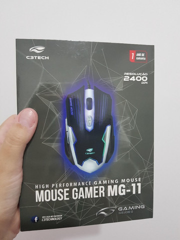 Mouse Gamer USB C3Tech MG-11 - Foto 2