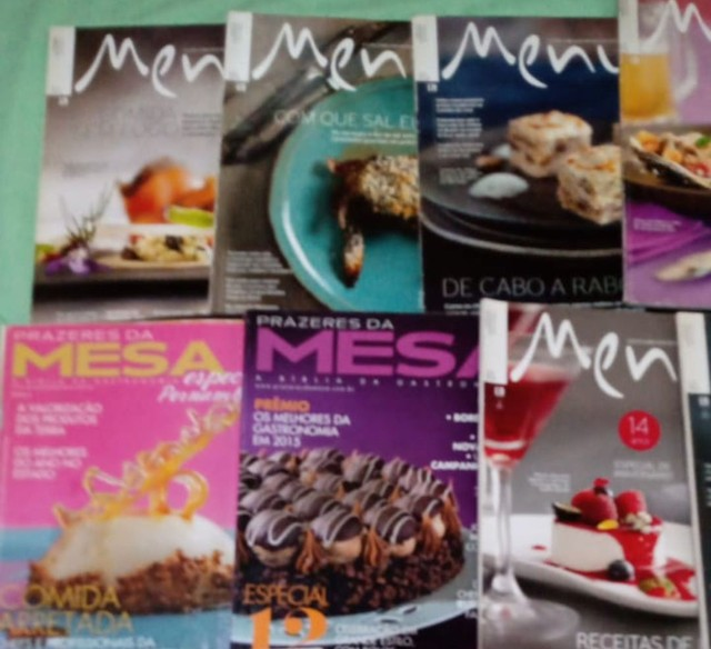 Menu - Revistas Gastronômicas - Foto 2
