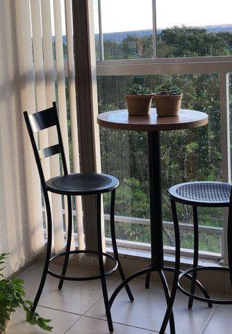 Jogo bistrô mesa cadeiras - Foto 2