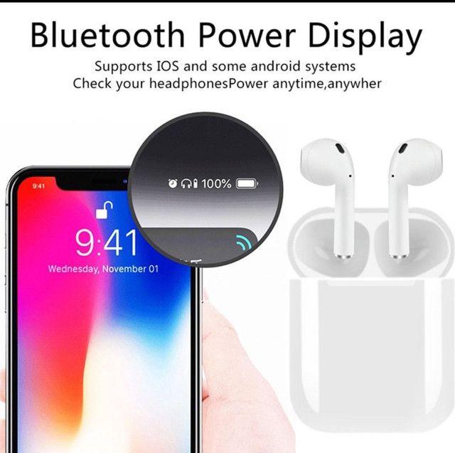 ? ÚLTIMA UNIDADE ?Macaron fones  inPods i12 TWS Bluetooth - Foto 5