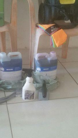 Vendesse kit completo  para lava jato - Foto 5
