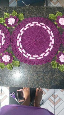 Trabalho com crochê  - Foto 2