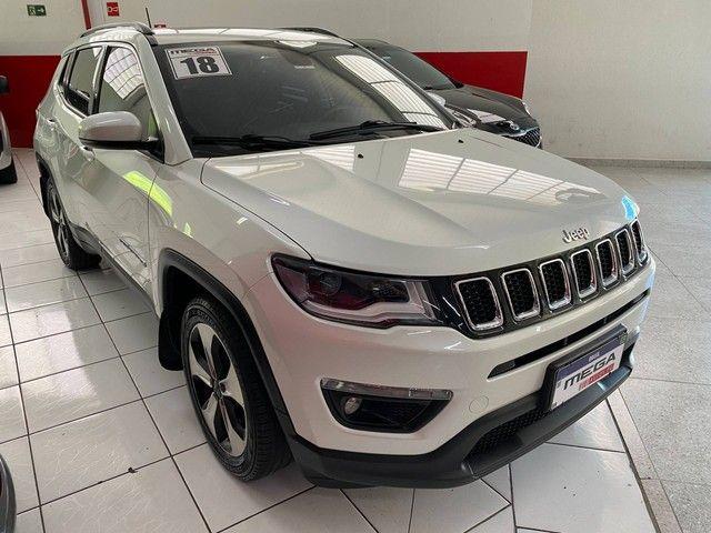 COMPASS 2017/2018 2.0 16V FLEX LONGITUDE AUTOMÁTICO - Foto 2
