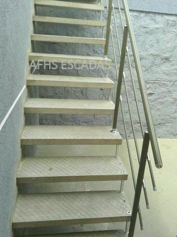 AFHS -Escadas Pré moldadas de Concreto  /Grades/Corrimão - Foto 2