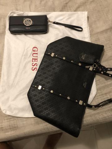 a01efcd70 Kit bolsa e carteira guess original - Bolsas, malas e mochilas ...