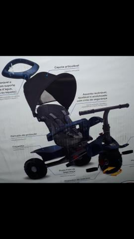 Triciclo smart baby reclinável bandeirantes - Foto 2