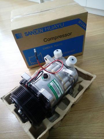 Compressor Sanden 7h15 8 orelhas 12v/24v polia 2A/8pk