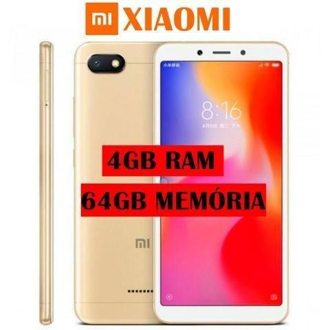 Celular Xiaomi Redmi 6 - 64 Gb - 4 Gb Ram - Novo - Lacrado - Dourado