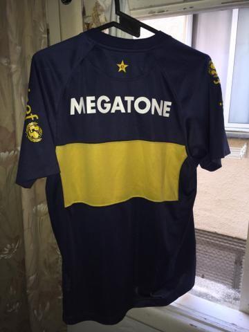 Camisa Boca Juniors 2008 tamanho M - Foto 2
