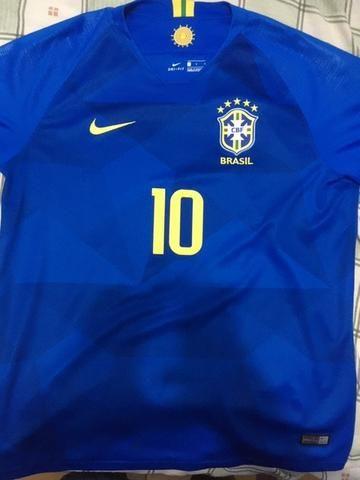Camisa Seleção Brasileira Oficial Tam G