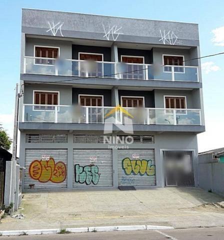 Apartamento com 2 dormitórios para alugar, 53 m² por r$ 1.000,00/mês - são vicente - grava