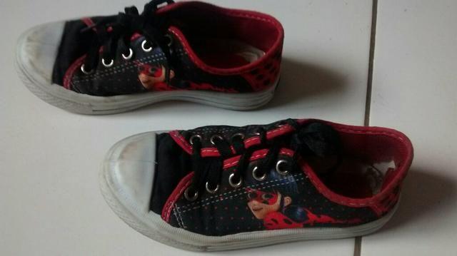 Lote de sapatos infantil 26