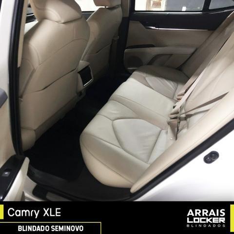 Toyota camry 2018/2018 3.5 xle v6 24v gasolina BLINDADO - Foto 4