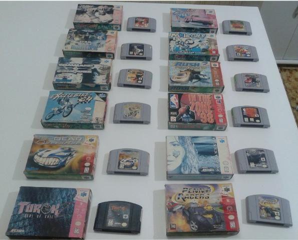Fitas originais para Nintendo 64 (preço variado) - Foto 5