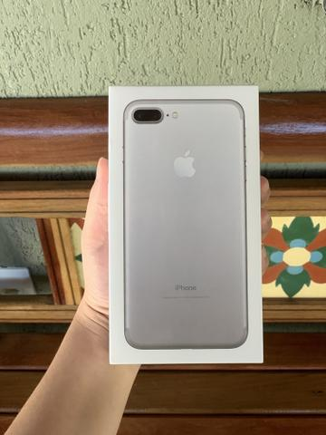 IPhone 7 Plus 32gb- Lacrado c/ nota fiscal, 1 ano de garantia Apple - Foto 2