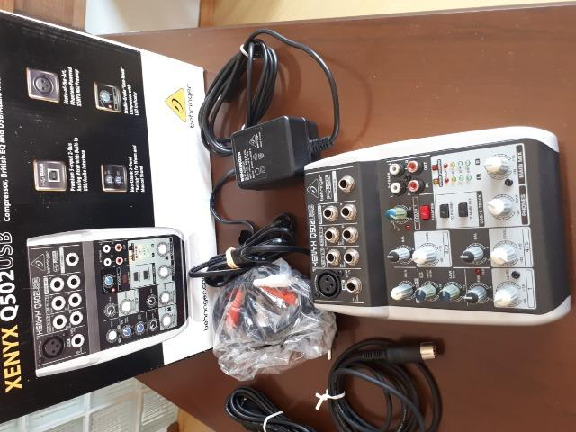 Mesa de som Xenyx Q502usb Behringer - Foto 4